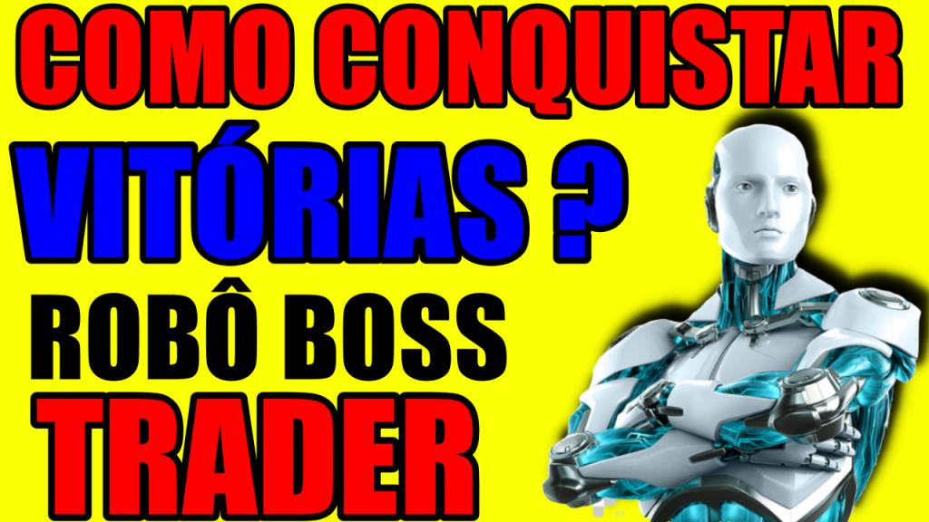 Robo de Sinais Boss Trader