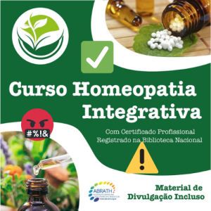 Terapeuta em Homeopatia Integrativa